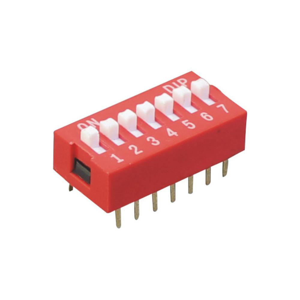 Mini 1 ~ 12 Position Slide 형 4 Way Dip Switch