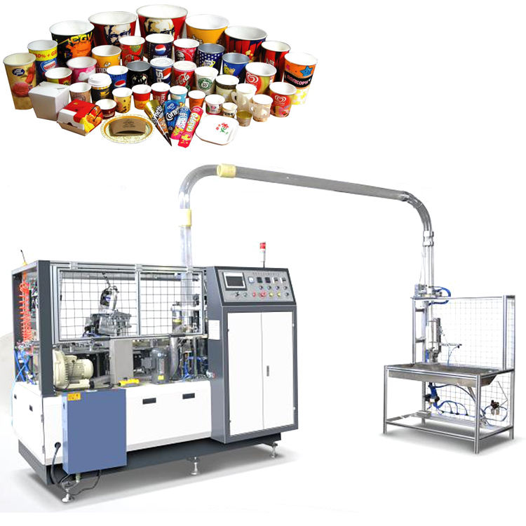 Disposable Automatic Paper Cup Paper Cup Machine Forming Fully Automatic Paper