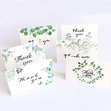 Promotional Widely Used Custom Design Gift Floral Thank You Greeting Card