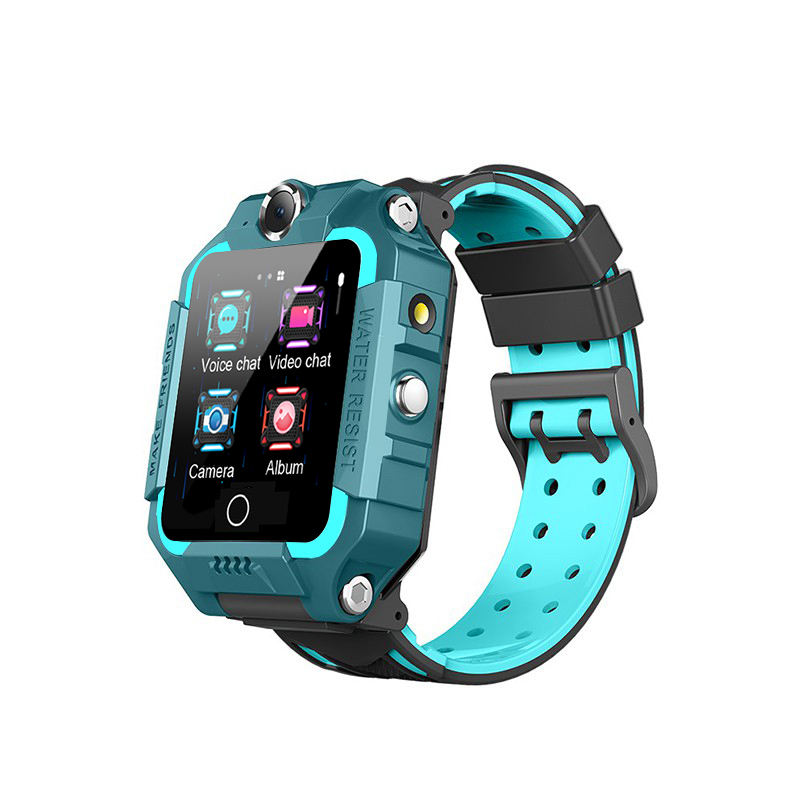 4G kids Smartwatch 2021 With Sim Card Slot Dual Camera LBS GPS WIFI SOS Gravity Sensor IP67 Waterproof smart watch phone