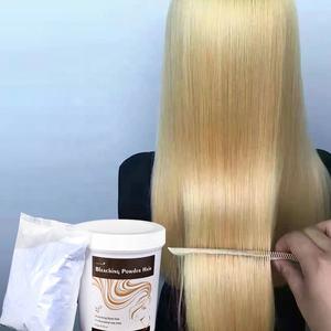 hair bleaching powder for hair in white .blue. purple. green
