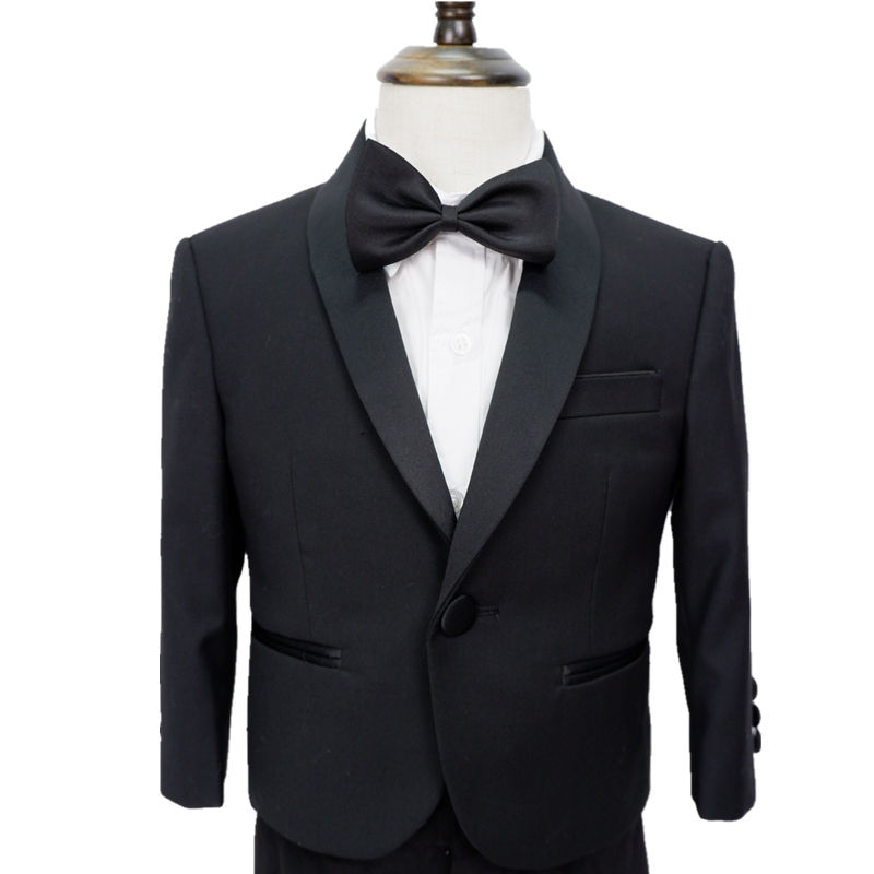 kids boys party wedding new custom three pieces tuxedo suits made in china OEM