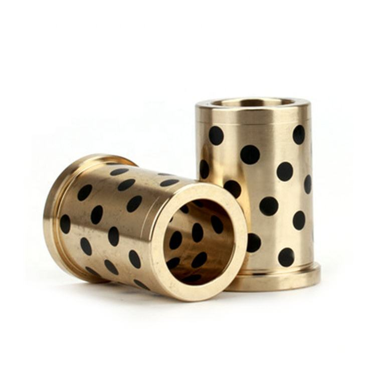 Brass bushings bronze graphite bushes self-lubricating sliding bearing