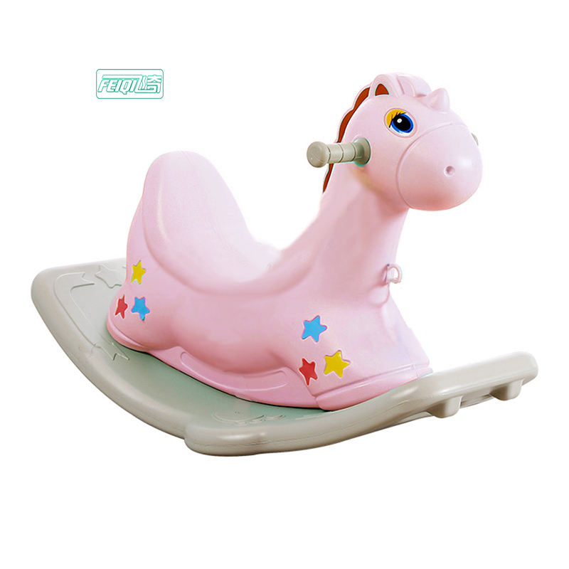 Cheap plastic rocking horse animal toy kids ride on toys horse riding toys