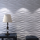 Wave Design Wallpaper PVC 3d Wall Panel