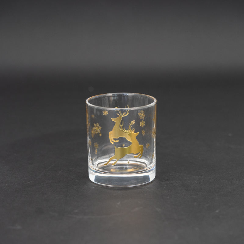 Oem Eco-Friendly Tazza di Whisky Con Cervi Stampa
