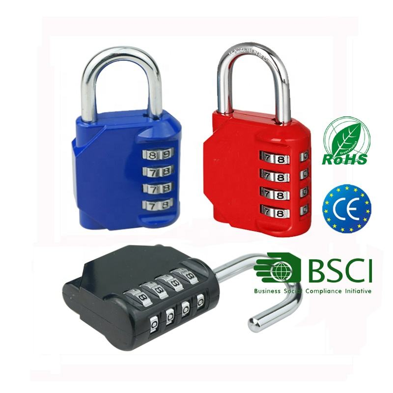 GYM Heavy Duty Custom Digital 4 Digit Code Waterproof Safety gym Lock candado Combination Padlock