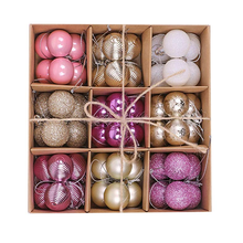 Luxury high quality plastic christmas decoration ball