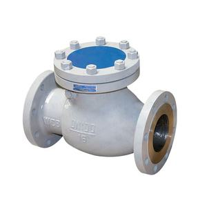 Bundor Factory Price Class150 DN50-500 Cast steel Swing Check Valve