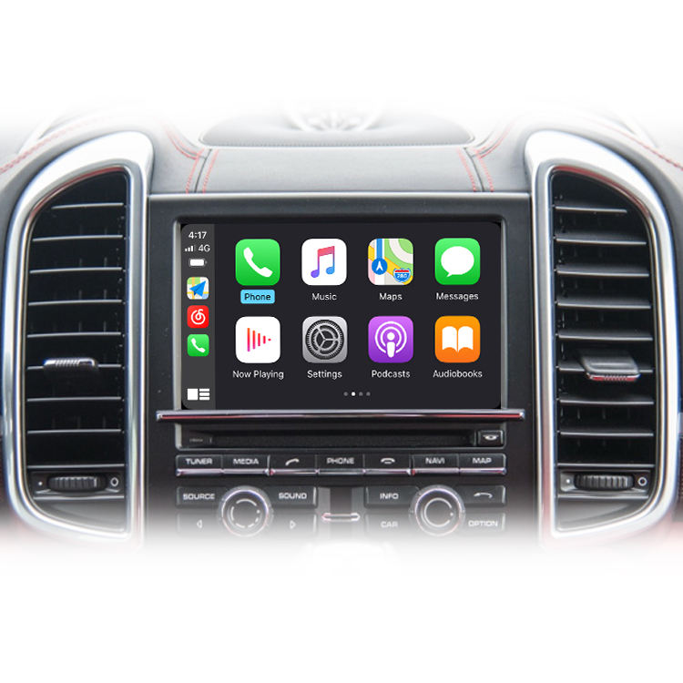 Joyeauto Apple Carplay Nirkabel untuk Porsche PCM3.1 2010-2016 Cayenne Panamera Macan 911 991 Bosxter <span class=keywords><strong>Android</strong></span> Video Otomatis
