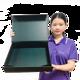 Custom Magnetic Closure Matt Lamination Folding Paper Gift Box With Glossy Black UV Coating Logo