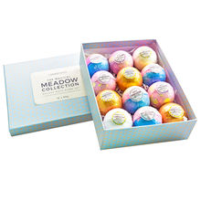 Wellbeing 50g*12 Pcs Bath Bomb Gift Set 12 Rainbow Bubble With Vegan Private Label In Soap Making Kit