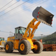 Latest 7tons cat wheel loader with good quality Chinese front loader