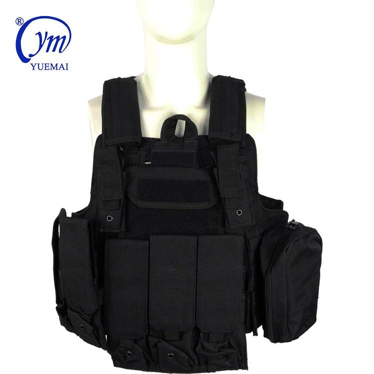 Stock Promotion Custom Nylon Air soft Ballistic Anti-Stab Combat Swat Camping Outdoor Army Police Military Tactical Gear Vest