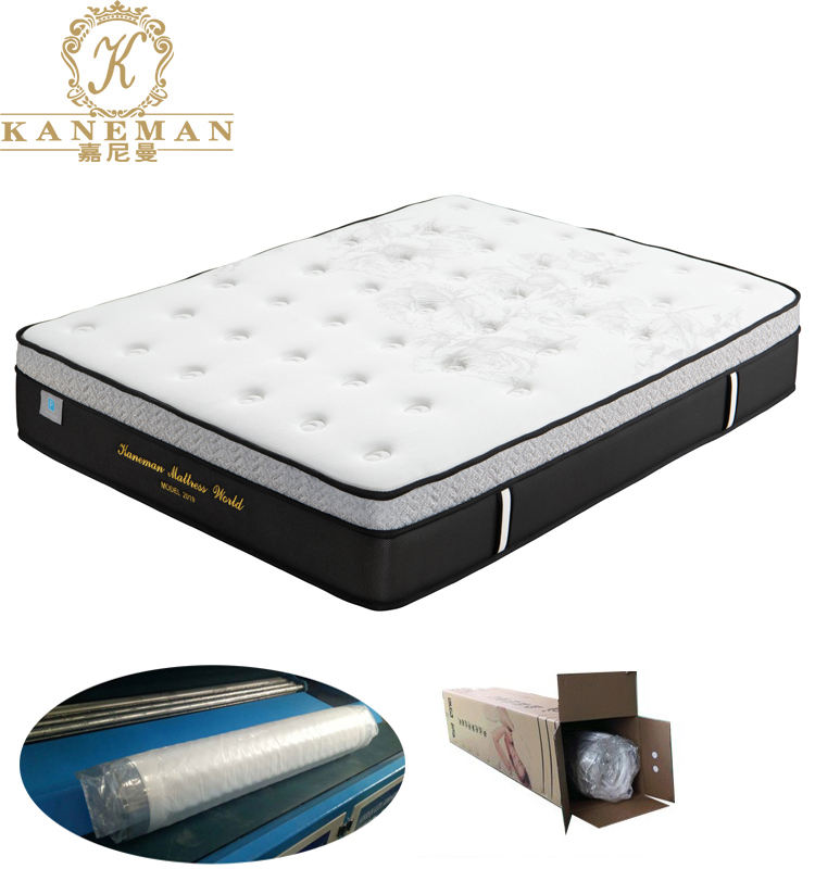 Cheap Price Roll up Packing Spring Thin Bed Mattress For Bunk Bed Mattress