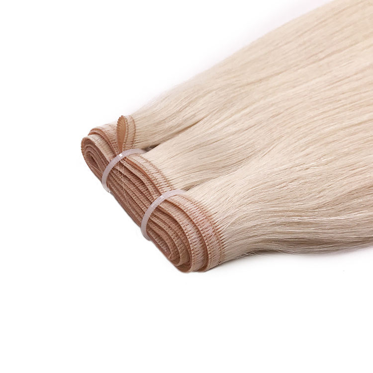 Russian Cuticle Aligned Remy Flat Weft hair PU Skin Weft Seamless Hair extension Invisible double drawn Flat Hair Weft