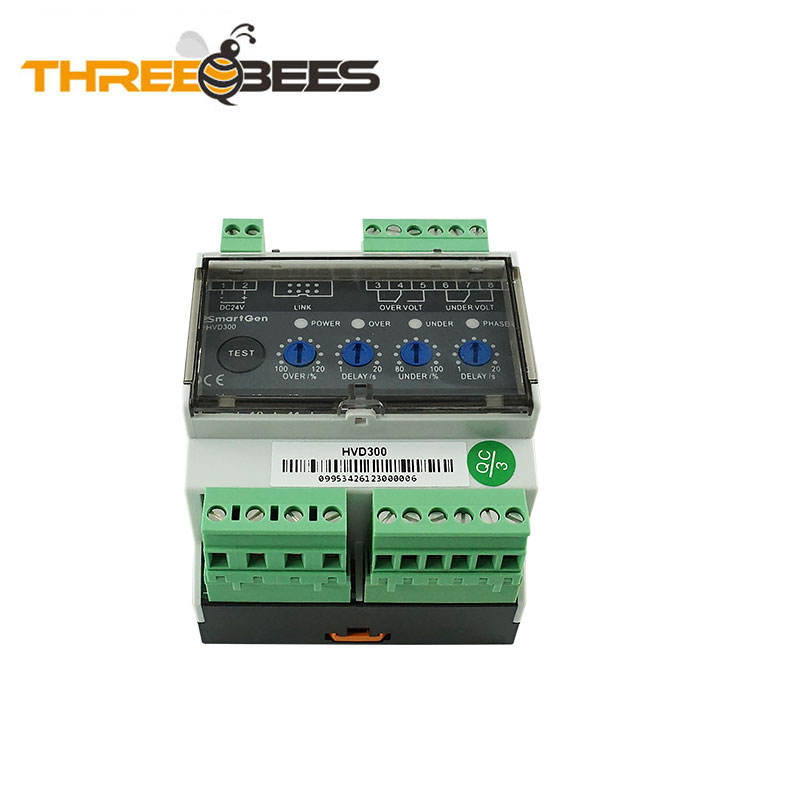 Reverse Power Protection Relay HVD300 Used in Marine Genset Field 2 Relay Output