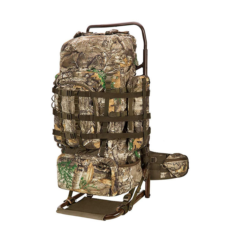 Backpack hunting camping military molle with Frame and Rain Cover for Bow/Rifle/Pistol Ergonomic Design and Comfortable