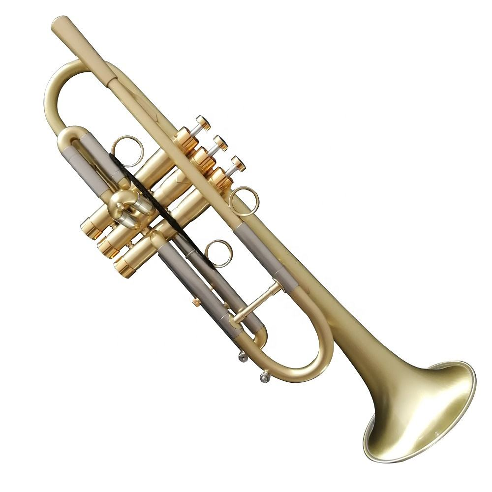 New Design high quality heavy trumpet perfect musical instrument