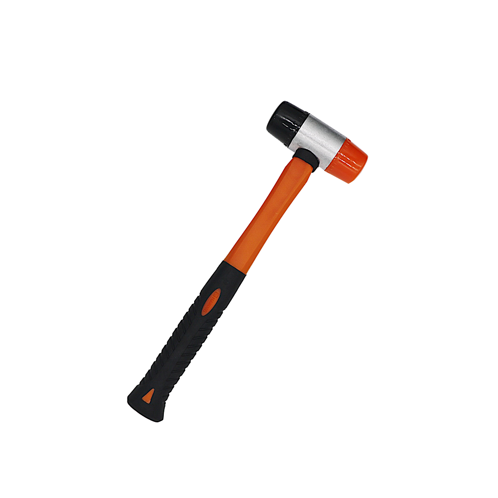 glass fiber handle two-color rubber molding installation hammer