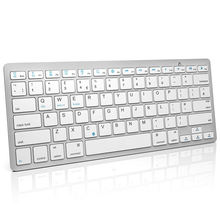 Hot sale  OEM Clavier Azerty bluetooth keyboard wireless for ipad air/2/3/4