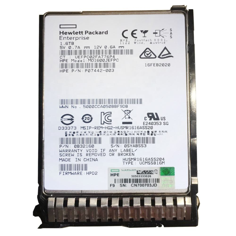 "100% Tested For 1Tb 7.2K 6Gbps Sata 2.5"" 656108-001 Wholesales Data Storage Servers Hdd All Functions Work Good for HP DL580 G10"