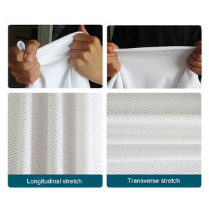 Anti-mite probiotics air mesh wear-resistant and breathable cotton bed fitted sheet