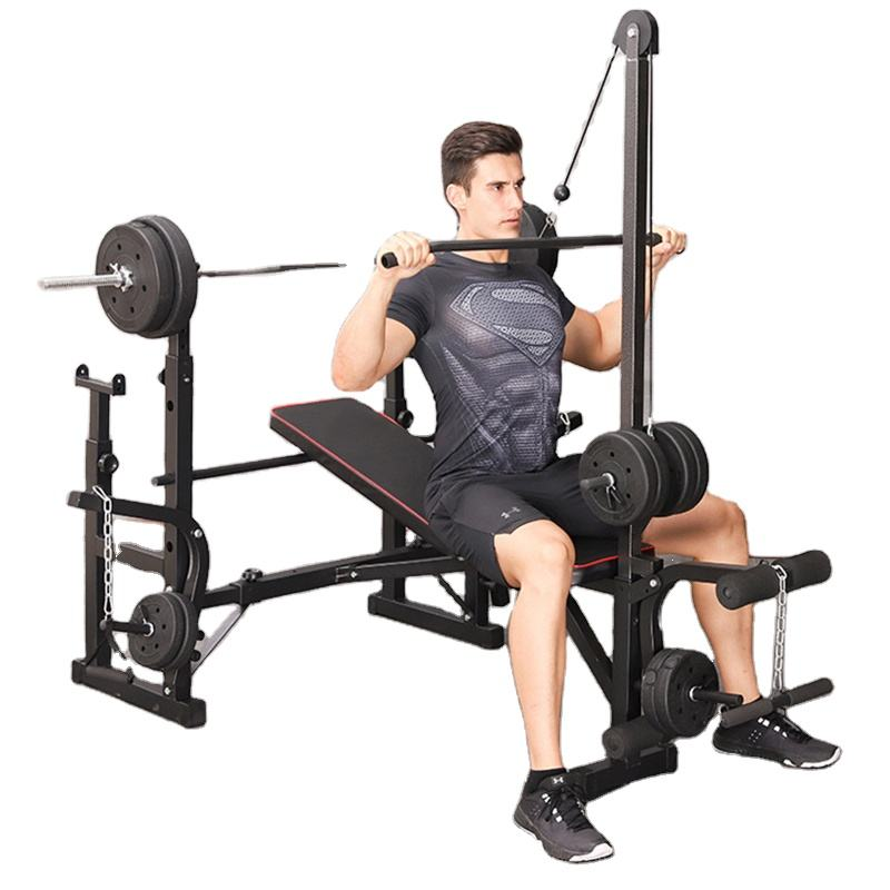 Vivanstar Multi-function Strength Training Lifting Press Barbell Fitness Equipment Model ST6655 Weight Bench