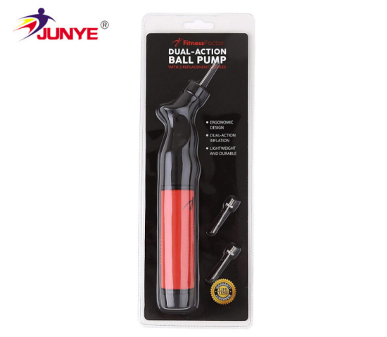 Top sell hand pump Double action Ball Pump hot sell on Amazon Dual action ball pump with needles