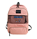 unsex waterproof stylish cute polyester mesh pink fancy backpack