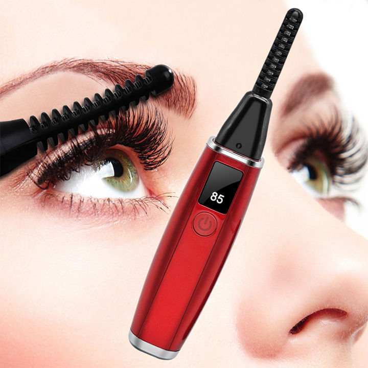 Rechargeable Electric Heated Eyelash Curler for Eyelashes Quick Curling and Long Lasting