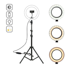 Tiktok YouTube Video 10inch Ring Light Price Tripod Stand LED Selfie Ring Light with Phone Holder