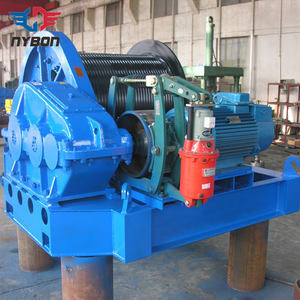 Good Quality Electric Winch For Overhead Traveling Crane