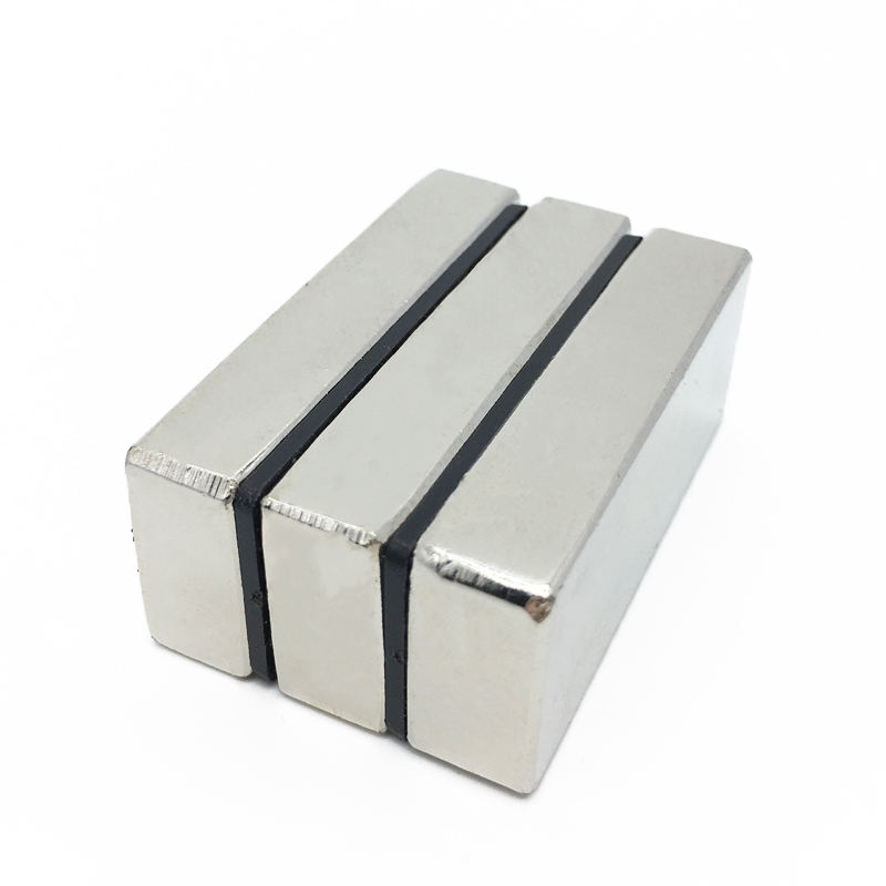 Hot Sale low price Top Quality block Shape N52 Neodymium Magnet 50X25X10