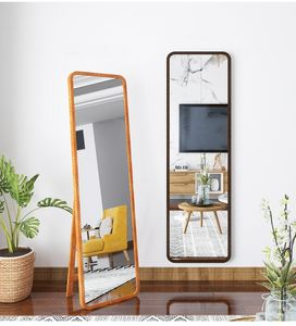 160*40 cm wooden frame floor mirror full length mirror