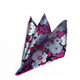 100% polyester printed business floral wholesale holder custom pocket squares for men's ties and handkerchiefs