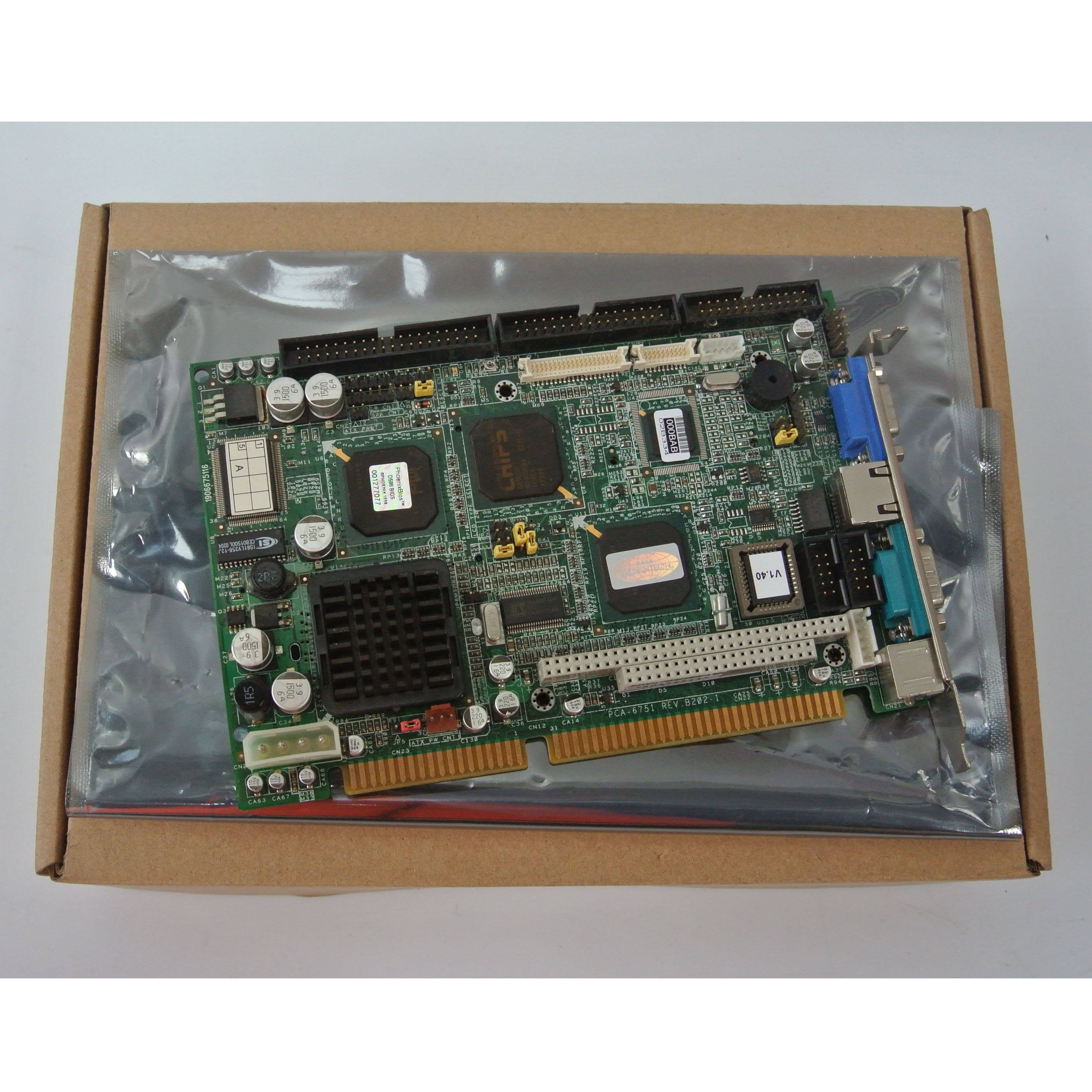 Flash Memory memory Advantech PCA-6751 Rev B1  Industrial Motherboard