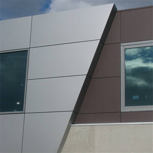 Silver Royal Brush Coating Aludream Aluminum Composite Panel 48'x96' acp/acm sheets for exterior wall facades