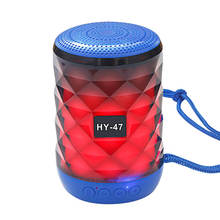 2020 new arrivals christmas gift mini led light bluetooth FM radio TF card wireless bluetooth speakers for computer mobile phone