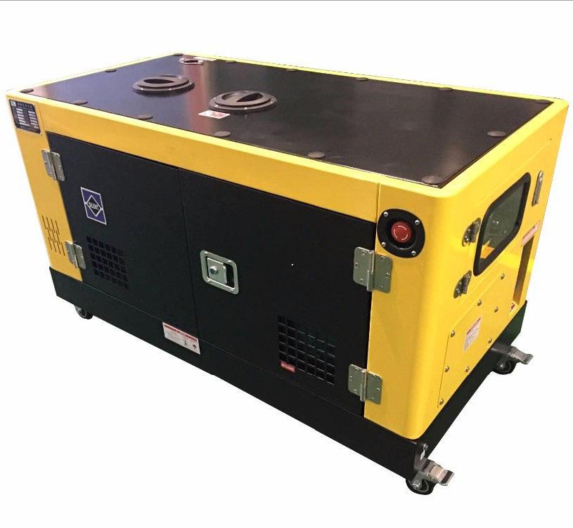 Guangzhou factory direct sale champion power soundproof generator diesel 15kva