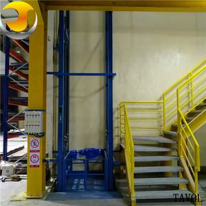 Warehouse Goods Lift Cage Lift Cargo Elevator