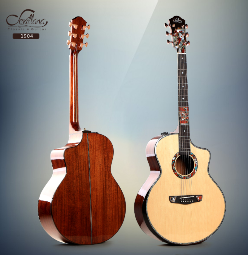 Handmade musical instruments guitar with Solid wood acoustic guitar high quality acoustic guitar Manufacturer