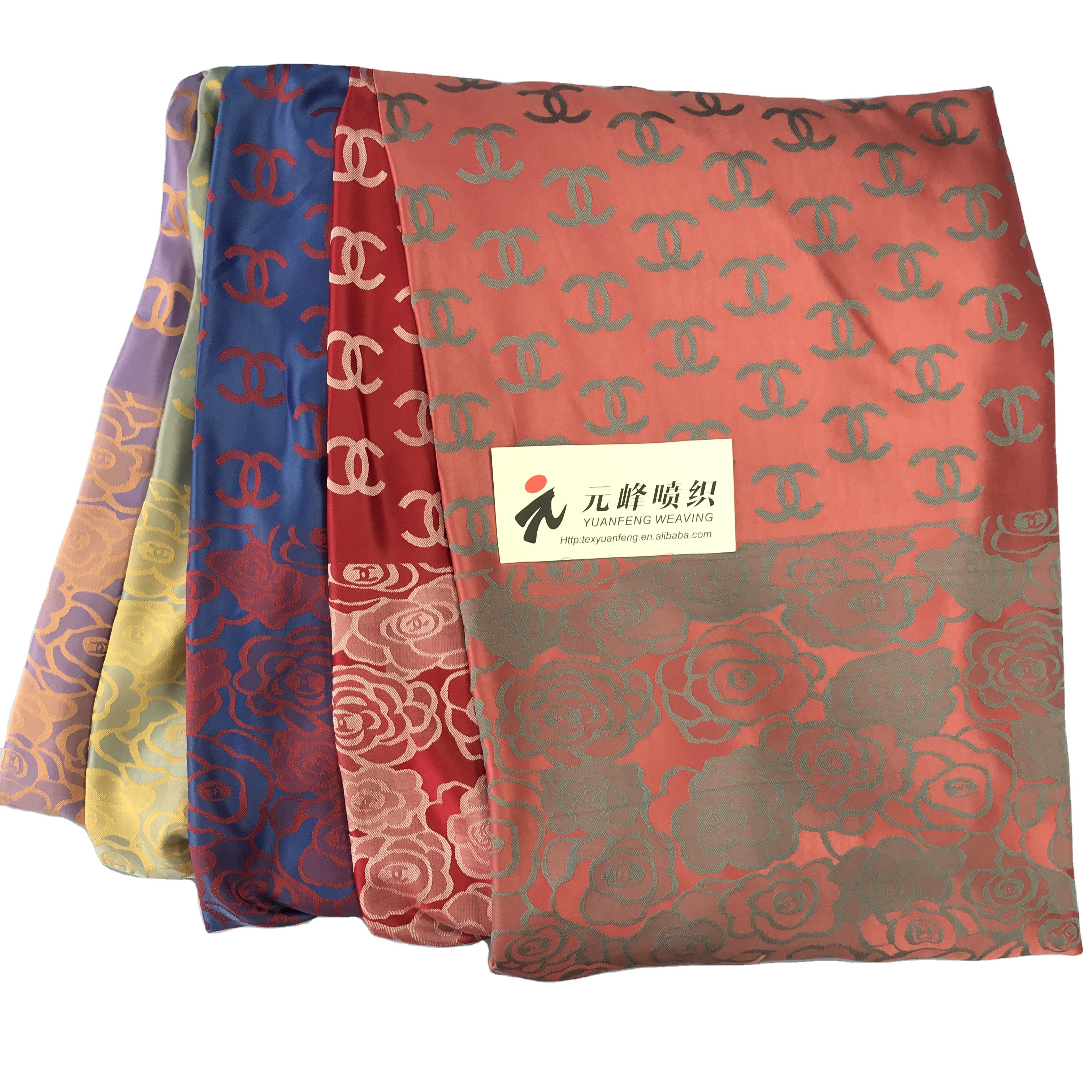 PROFESSIONAL FACTORY VIETNAM SILK JACQUARD FABRIC CREPE COTTON FOR SALE