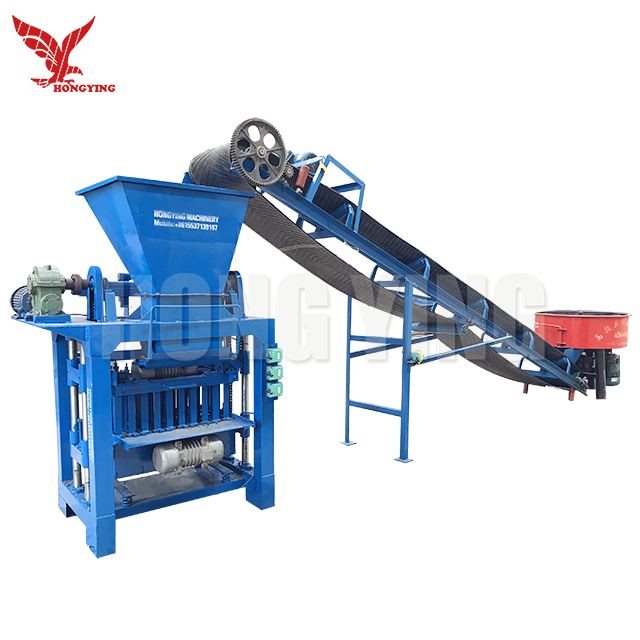 QMJ4-35C Widely Used Interlocking Cement Concrete Hollow Brick Block Making Machine Price For Sale In Usa