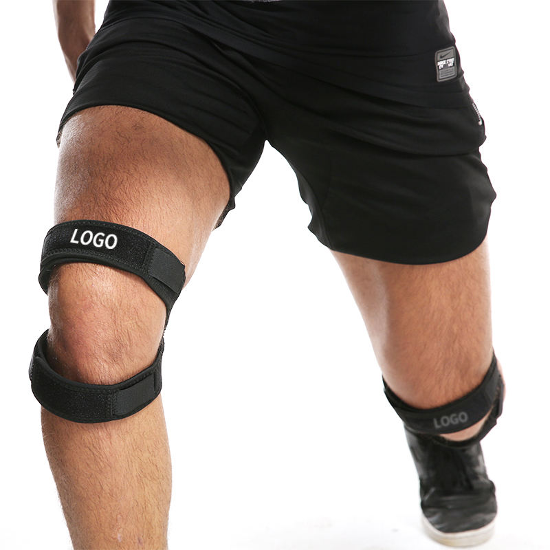 Knee patella protective band silicone injury - resistant support