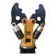 Excavator attachment of SF demolition tools of hydraulic cutter