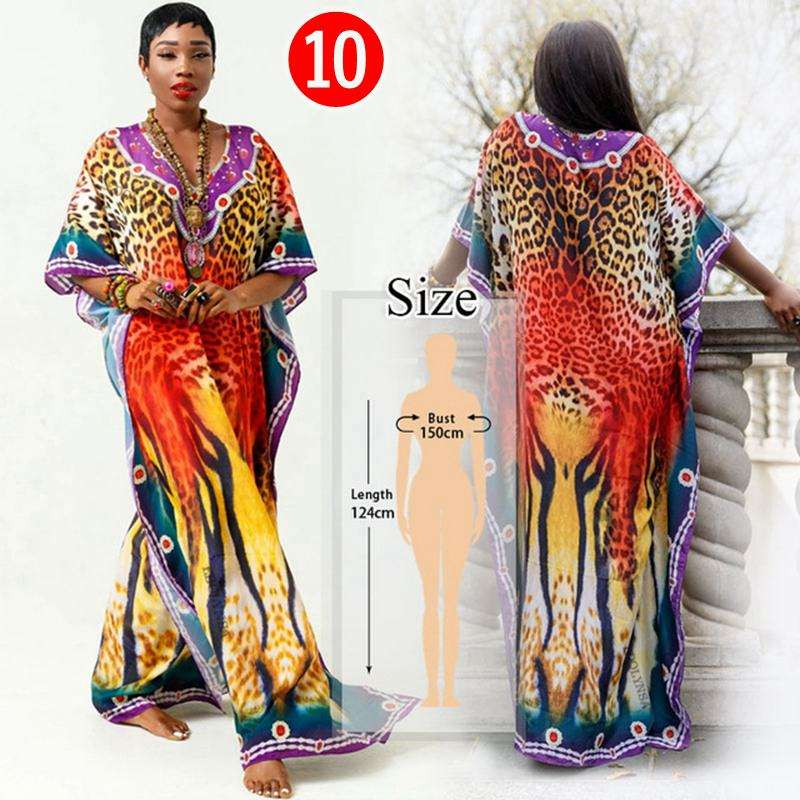 Bathing Suit Cover Up Beach Wear Polyester Bohemia Loose Umbrella Meat Slim Lengthened Maxi Dress Sunscreen Shirt Female Summer