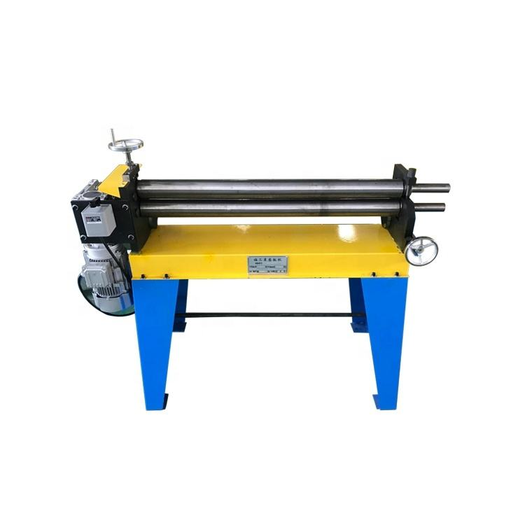 China manufacturers hand operated electric 3 roller bending machine