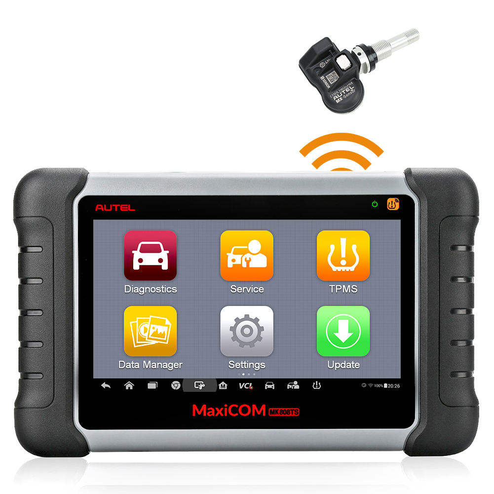 Autel mk 808ts Auto Car Scanners Vehicle Diagnostic Tool Can be used with Autel mx sensor
