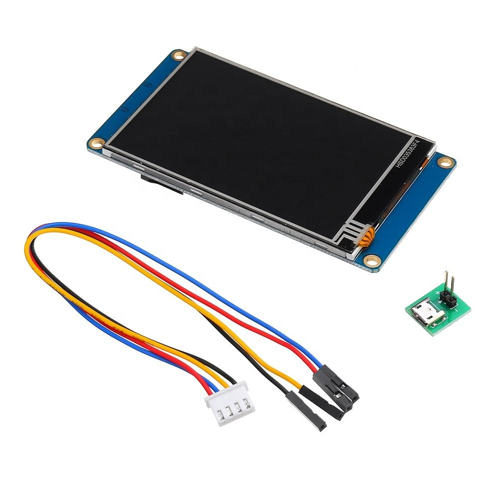 NX4024T032 3.2 Inch HMI Intelligent Smart USART UART Serial TFT LCD Touch Screen Module